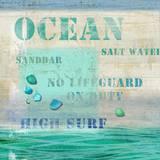 Ocean Wood Sign Wood Sign