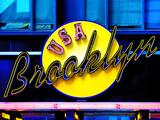 USA Brooklyn Sign, Manhattan, New York, United States Photographic Print by Philippe Hugonnard