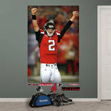 NFL Atlanta Falcons Matt Ryan Celebration Mural Wall Decal Wall Decal