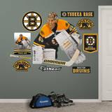 NHL Boston Bruins Tuukka Rask Wall Decal Muursticker
