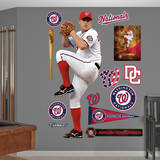MLB Washington Nationals Jordan Zimmermann Wall Decal Wall Decal