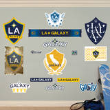 MLS Los Angeles Galaxy Los Angeles Galaxy Logo Collection Wall Decal Wall Decal