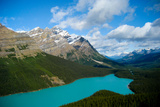 Banff Peyto Lake in Canadian Rockies Photo