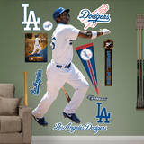 MLB Los Angeles Dodgers Yasiel Puig Wall Decal Wall Decal