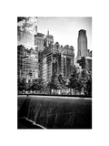 Architecture and Buildings, 9/11 Memorial, 1WTC, Manhattan, NYC, White Frame, Full Size Photography Photographic Print by Philippe Hugonnard