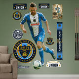 MLS Philadelphia Union Jack McInerney Wall Decal Wall Decal
