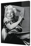 Marilyn Monroe - Reclining Stretched Canvas Print