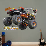 Monster Jam: El Toro Loco - Black Version Wall Decal Wall Decal