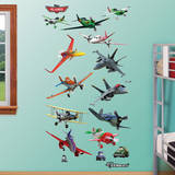Disney Planes Collection Wall Decal Mode (wallstickers)