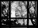Window View, Special Series, Sacre-Cœur Basilica at Montmartre View, Paris Photographic Print by Philippe Hugonnard
