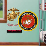 USMC Insignia Fathead Jr. Wall Decal Wall Decal