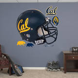 Cal Golden Bears Helmet Wall Decal Wallstickers