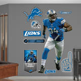 NFL Detroit Lions Ziggy Ansah Wall Decal Wall Decal