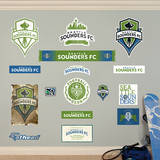 MLS Seattle Sounders Seattle Sounders Logo Collection Wall Decal Wall Decal
