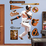 MLB Baltimore Orioles Nick Markakis Wall Decal Wall Decal