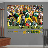 NFL Green Bay Packers Aaron Rodgers Mural Wall Decal Wall Decal