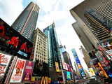 Cityscape of Times Square, Manhattan, New York City, United States, USA Photographic Print by Philippe Hugonnard