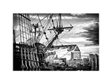El Galeon, Authentic Replica of 17th Century Spanish Galleon at Pier 84, New York Photographic Print by Philippe Hugonnard