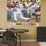 MLB Los Angeles Dodgers Yasiel Puig Mural Wall Decal Wallstickers