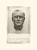 Franklin Delano Roosevelt (FDR) Four Freedoms Park, Sculpture of Memory, Roosevelt Island, New York Photographic Print by Philippe Hugonnard