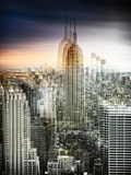 Urban Vibrations Series, Fine Art, Landscape, Empire State Building, United States Photographic Print by Philippe Hugonnard