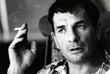 Jack Kerouac Smoking Plastic Sign Plastic Sign