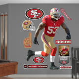 NFL San Francisco 49ers NaVorro Bowman Wall Decal Wall Decal