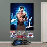 WWE - John Cena Montage Mural Wall Decal Wall Decal