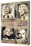 Marilyn Monroe - Panels Stretched Canvas Print