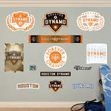 MLS Houston Dynamo Houston Dynamo Logo Collection Wall Decal Wall Decal