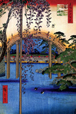 Tenjin Shrine Plakater af Ando Hiroshige