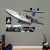 U.S.S. Enterprise NCC - 1701: Star Trek - Into Darkness Wall Decal Wandtattoo