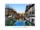 La Petite France, Historic Disctrict, Strasbourg, France, Europe Photographic Print by Philippe Hugonnard