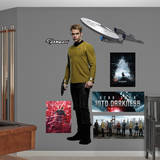 James T. Kirk: Star Trek - Into Darkness Wall Decal Autocollant mural