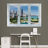 Chicago Skyline Window Decal Sticker Window Decal