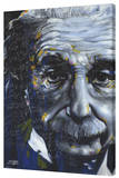 Einstein - It's All Relative Stretched Canvas Print