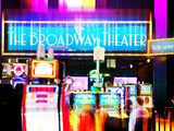 Urban Stretch Series, Fine Art, the Broadway Theater, Casino, Las Vegas, Nevada, United States Photographic Print by Philippe Hugonnard