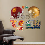 USC - Notre Dame Rivalry Pack Wall Decal Wall Decal