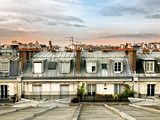 Rooftops View, Sacre-Cœur Basilica, Paris, France Photographic Print by Philippe Hugonnard