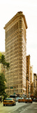 Vertical Panoramic of Flatiron Building and 5th Ave, Manhattan, Sunset, New York City, US Photographic Print by Philippe Hugonnard