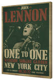John Lennon - Concert Stretched Canvas Print