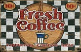Fresh Coffee Wood Sign Wood Sign