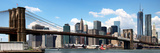 Panoramic Skyline of New York City, Manhattan and Brooklyn Bridge, One World Trade Center, US Photographic Print by Philippe Hugonnard