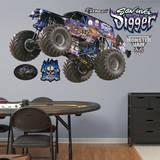 Monster Jam: Son - Uva Digger Wall Decal Muursticker