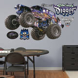 Monster Jam: Son - Uva Digger Wall Decal Wall Decal