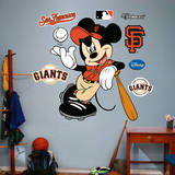Mickey Mouse - San Francisco Giants Wall Decal Wall Decal