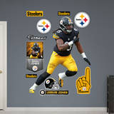 NFL Pittsburgh Steelers Jarvis Jones Wall Decal Wall Decal