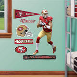 NFL San Francisco 49ers Colin Kaepernick Fathead Jr. Wall Decal Wall Decal