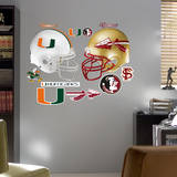 Florida State - Miami Rivalry Pack Wall Decal Wall Decal