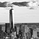 The One World Trade Center (1WTC) at Sunset, Manhattan, New York, Square Photographie par Philippe Hugonnard